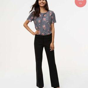Loft black julie fit trouser leg size 4